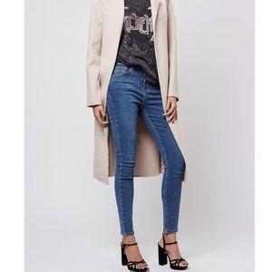 Topshop Moto Jamie High Waist Skinny Jeans Size 26